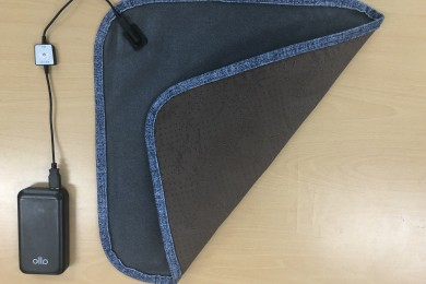 Portable Carbon Heated Cushion
